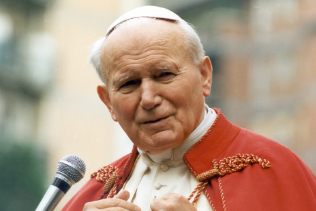 Private Audience with Pope John Paul II